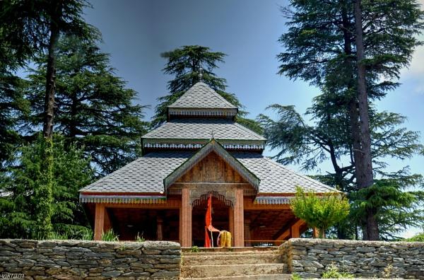 Mata Mahakali Lambodri Temple Keolidhar[Mandi] India by Bantu