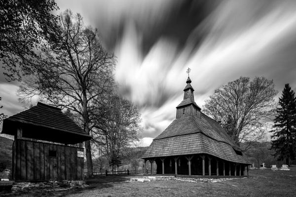 Wooden tserkva Jalova by marek100