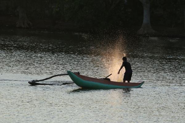 Fishing by Yoga
