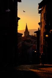 dawn in Urbino