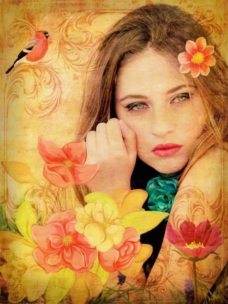 Flower Maiden by fellingmal