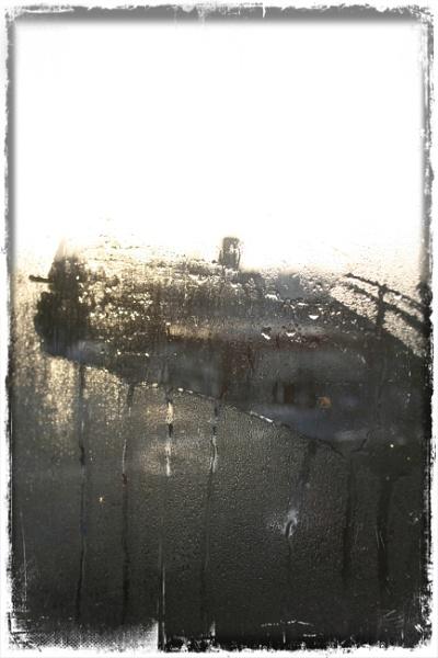 House and rain... by Zenonas