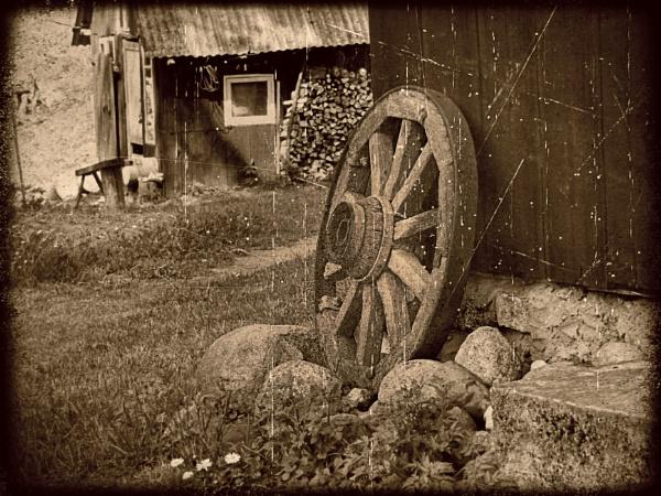 Wheel... by Zenonas
