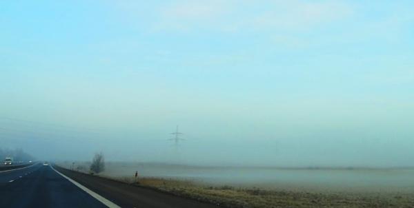 Journey in a blue fog by SauliusR