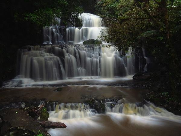 Purakaunui Falls 1 by DevilsAdvocate