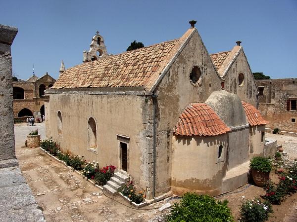 Arkadi Monastery, Crete by TonyDy
