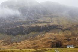 A wet day in Glencoe