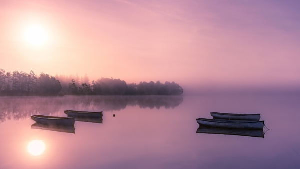 Misty Sunrise by AndyB1976
