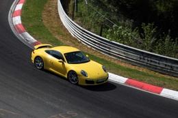 Photo : Porsche on the Nurburgring