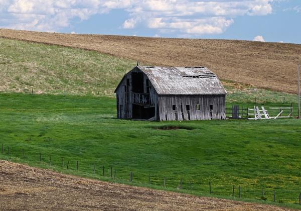 Matchstick barn by waltknox
