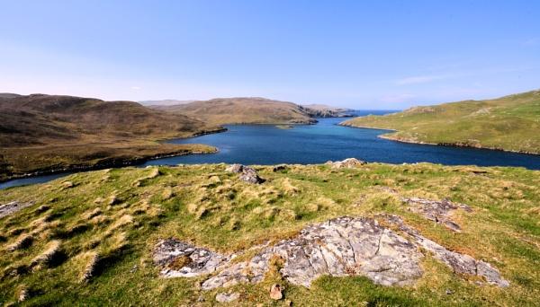 Mavis Grind - we had heat in Shetland! by HelenMarie