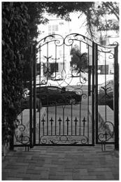 Photo : Stylish Iron Gate