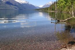 Pebbles in Lake MacDonald