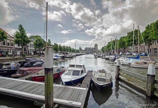 Harbour of Dordrecht by joop_