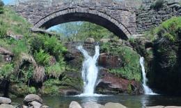 Panniers Bridge Waterfall