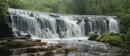 Monsal Weir Waterfall