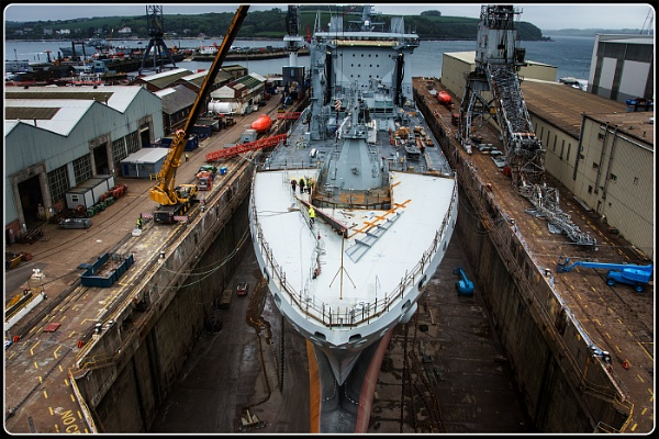 Falmouth Dry Dock by dven