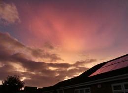 Nearly sunset