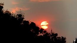 """  THE SUN SET  """