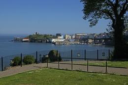 Castle Hill & Harbour, Tenby.