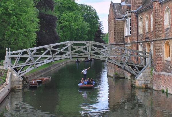The Mechanical Bridge, Cambridge by michaelfox