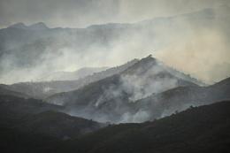 Mountain fires Cuba
