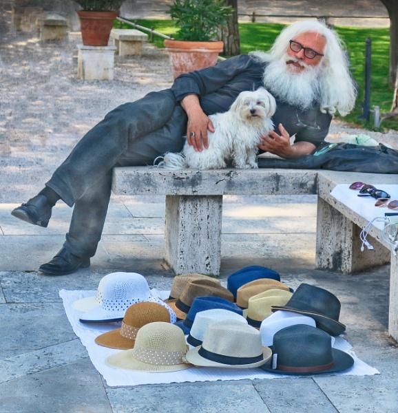 The Hat Seller by HelenaJ