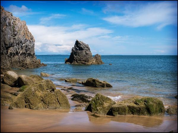 Barafundle Bay by bwlchmawr