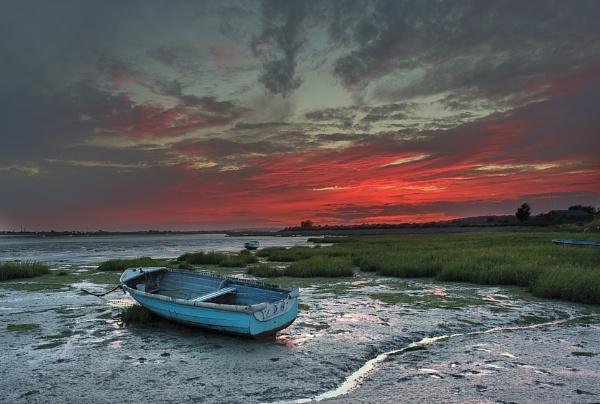 Two Tree Island sunset by DCox