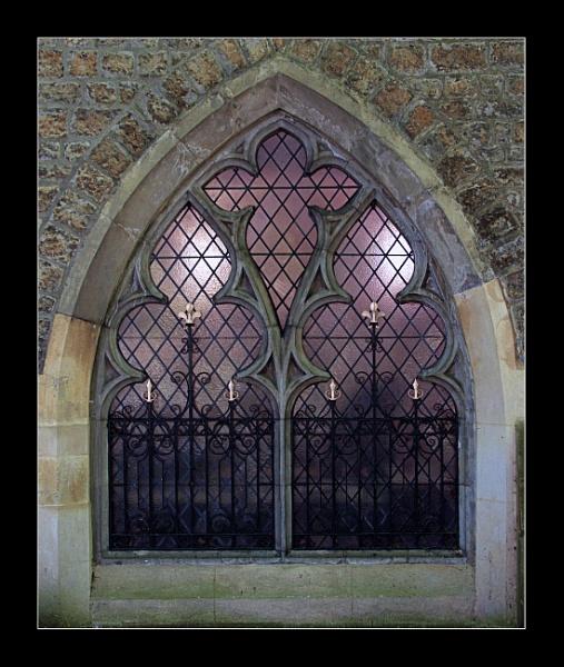 Chapel Window by BobDraper