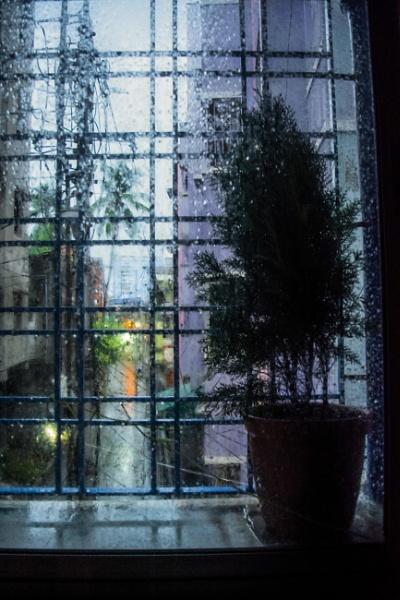 A Rainy Day...A Wet Window..A Listless Mind! by Sandipan
