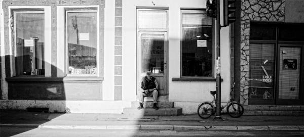 Urban Scene CXL by MileJanjic