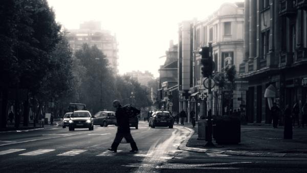 Urban Scene CXLIV by MileJanjic