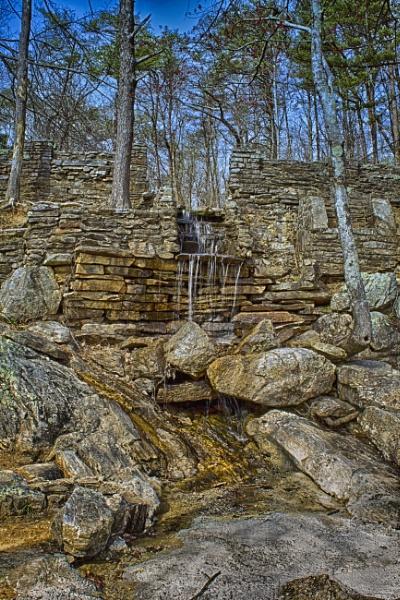 Cheaha Waterfall by ThomasVasasPhotography