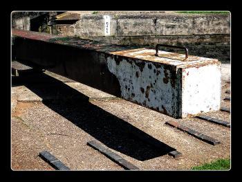 Lock Gate Shadow