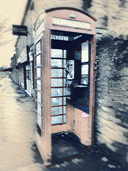 Phone box by willow