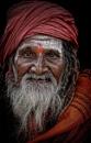 Sadhu in Rishikesh by sawsengee