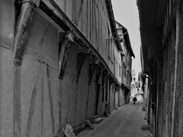 A Street in Troys France by Steven_Tyrer