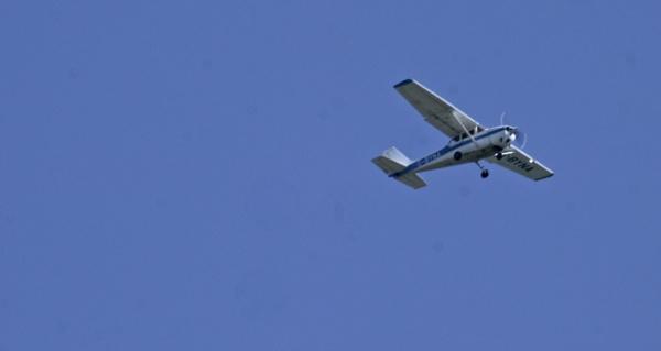 light aircraft by sparrowhawk