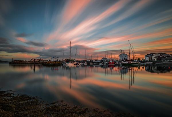 Carrickfergus marina by brzydki_pijak