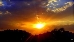 """"""" THE SUN AT 'DUSK' """""""