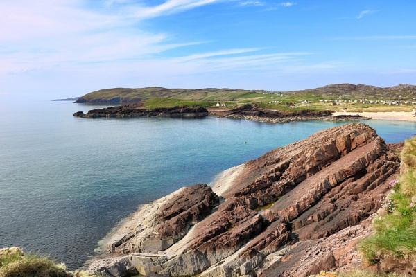 Clachtoll beach near lochinver by DanfromScotland