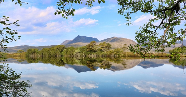 Reflection on Cul Beag by DanfromScotland