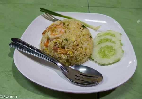 Fried Rice - Thai Style by Swarnadip