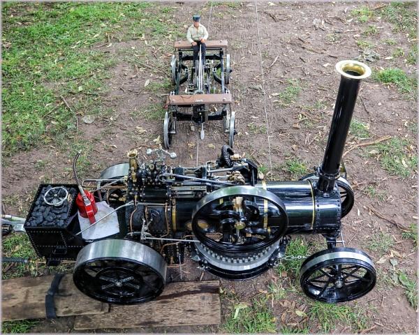 Miniature Steam Plough by DicksPics