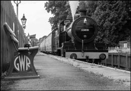 Ex-SDJR 7F at Stogumber, Somerset