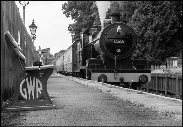 Ex-SDJR 7F at Stogumber, Somerset by bwlchmawr