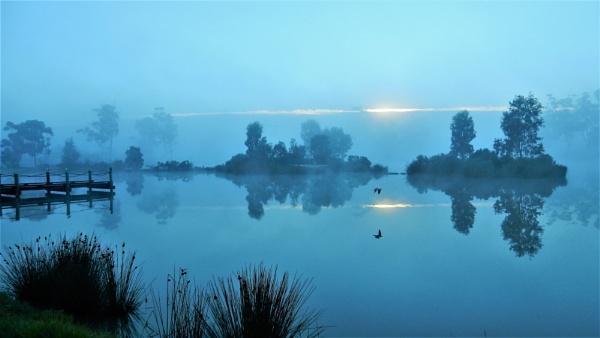 Misty Neangar Dawn by dales