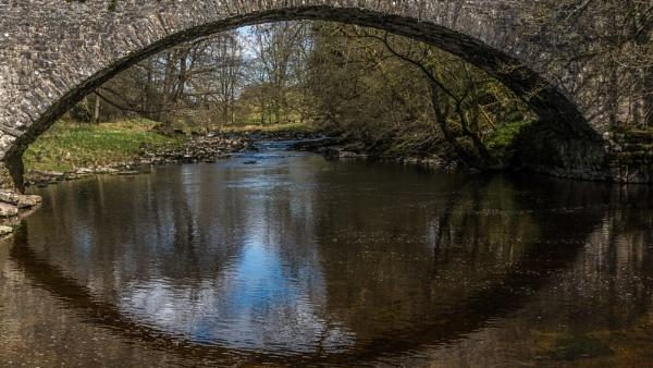 reflections under the bridge by HeathCee