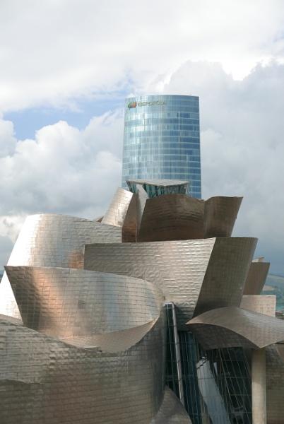 Guggenheim and Iberdrola Tower, Bilbao by tonycullen